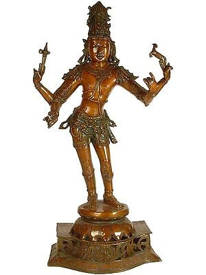 Large Size Vinapani Shiva as Pasuhpatinath