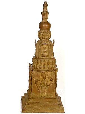 Tibetan Buddhist Stupa