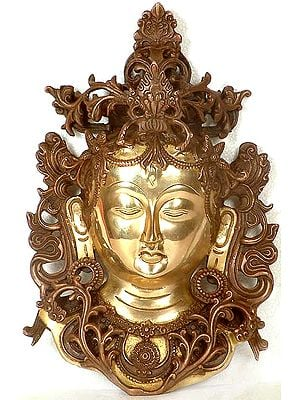 (Tibetan Buddhist Deity) Tara Wall Hanging Mask