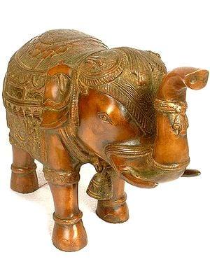 Temple Decorative Elephant