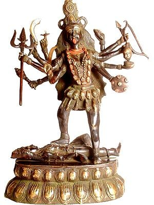 Ten-Armed Black Kali, or Mahakali
