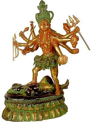 Ten-Armed Kali, or Mahakali