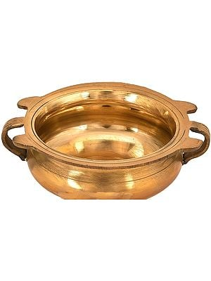 Urli Traditional Bowl Brass Showpiece