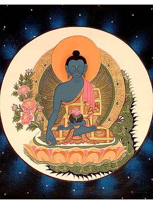 Bhaishajyaguru (Tibetan Buddhist God Medicine Buddha)