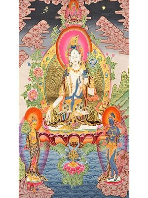 Tibetan Buddhist Goddess White Tara: The Divine Mother