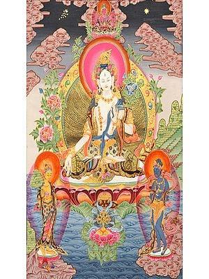 Tibetan Buddhist Goddess White Tara: The Divine Mother