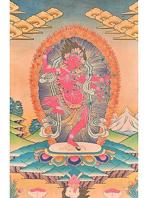 Red Tara (Kurukulla) - Tibetan Buddhist Goddess