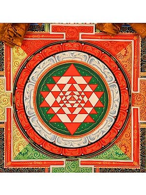 Vajrayogini Mandala - Tibetan Buddhist