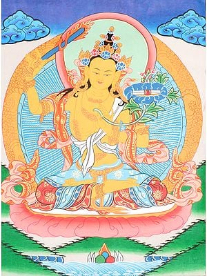 Manjushri -Tibetan Buddhist Deity