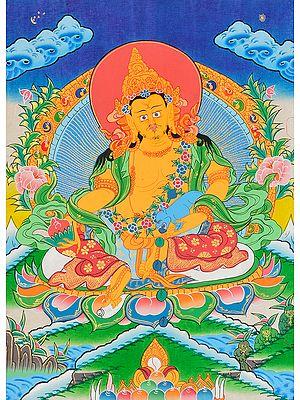 Kubera -Tibetan Buddhist Deity