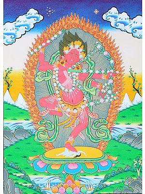 Tibetan Buddhist Deity Red Tara (Kurukulla)