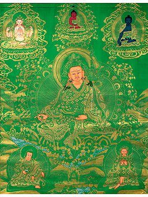 Tibetan Buddhist Guru Rin Poche