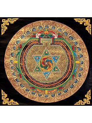 Tibetan Buddhist Mandala of Om
