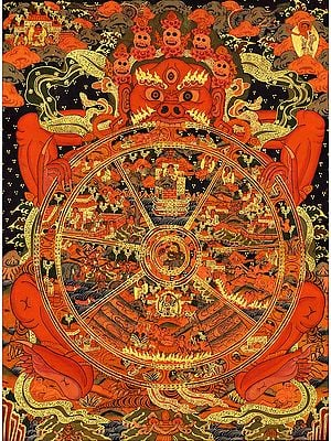 Tibetan Buddhist Wheel of Life