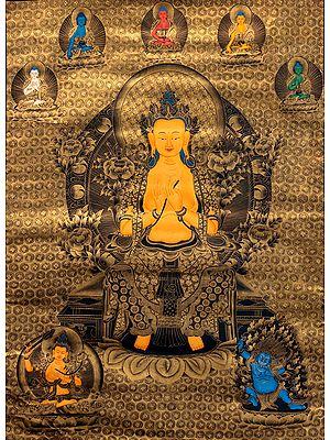Large Size Tibetan Buddhist Future Buddha Maitreya