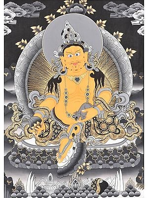 The Tibetan Buddhist God of Wealth - Kubera