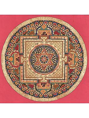 Tibetan Buddhist Mandala of Vajrayogini