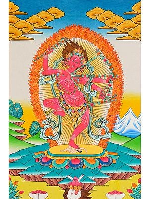 Tibetan Buddhist Goddess Kurukulla: The Red Tara