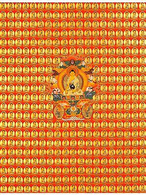 Tibetan Buddhist Thousand Buddhas (Story of The Thousand Schoolboys)