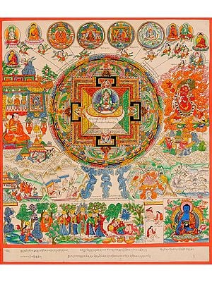 The Cosmos of Healing (Tibetan Buddhist)