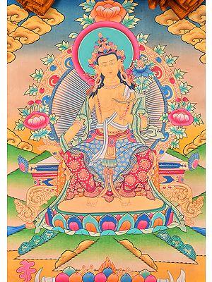 Tibetan Buddhist Deity Future Buddha Maitreya