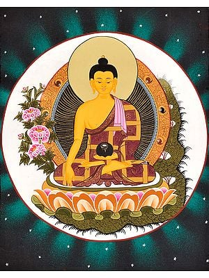 Gautama Buddha As Medicine Buddha (Tibetan Buddhist)
