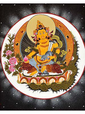 Tibetan Buddhist Vaishravana (Kubera)