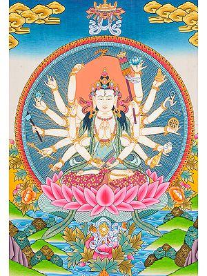 Mother Goddess Chandi -Tibetan Buddhist Deity