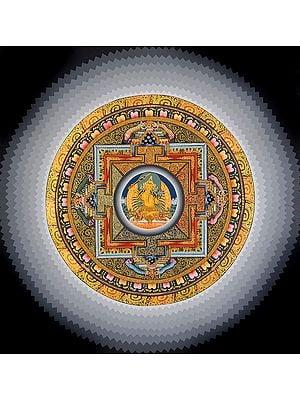Tibetan Buddhist Deity Manjushri Mandala