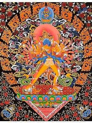 Kalachakra in Yab Yum -Tibetan Buddhist