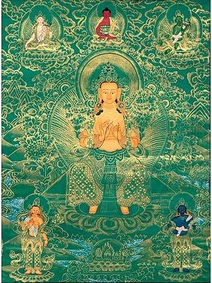 The Future Savior - Maitreya Buddha (Tibetan Buddhist)