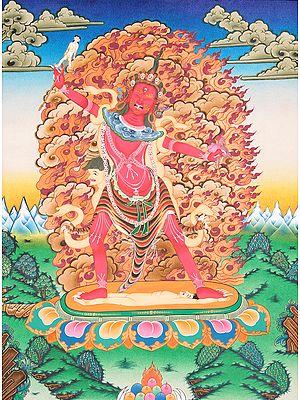 Tibetan Buddhist Yogini (Ekajati)