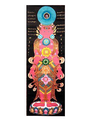 Kundalini Chakras of Human Body