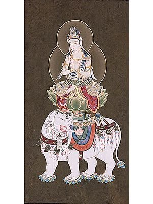 Taishuku-Ten (Japanese Form of Indra) - A Popular and Powerful (Tibetan Buddhist) Vedic God