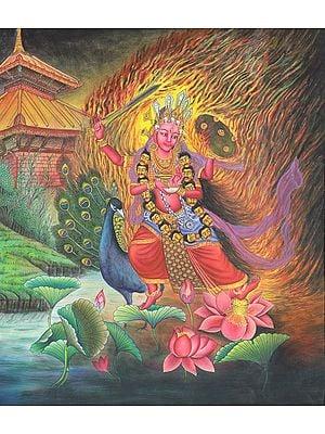 Kumara or Karttikeya (Tibetan Buddhist)