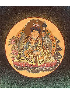 Tibetan Buddhist Guru Padmasambhava