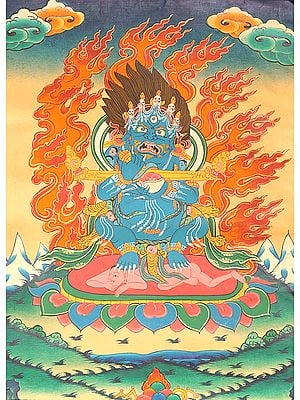 The Protector of Tibetan Buddhist Monasteries