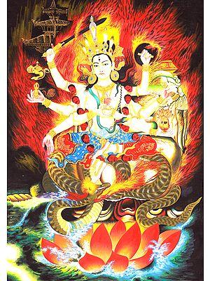 Bhagavati Yogini -Tibetan Buddhist