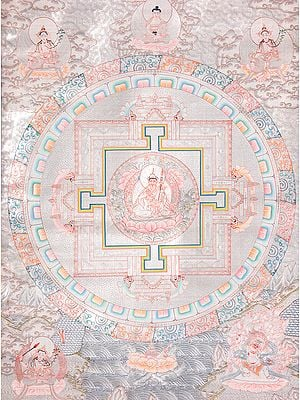 Tibetan Buddhist Mandala of Guru Padmasambhava