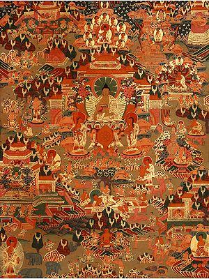 Life of Shakyamuni Buddha(Tibetan Buddhist)