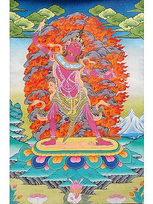 (Tibetan Buddhist) Ekajati - The Protector of Mantras
