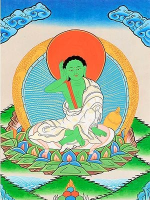Milarepa - A Great Mystic Poet, Singer and Siddha of Tibet -Tibetan Buddhist