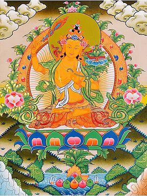 Manjushri - Bodhisattva of Transcendent Wisdom (Tibetan Buddhist)