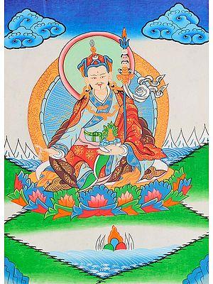 Tibetan Buddhist Deity Rinpoche (Guru Padmasambhava)