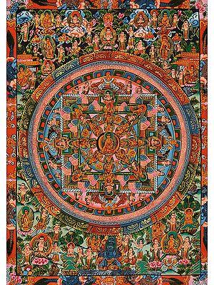 The Buddha Mandala -Tibetan Buddhist