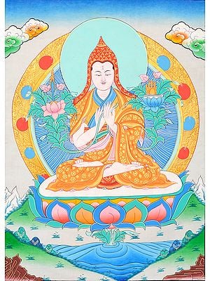 Pundit Tsong Khapa -  The Great Tibetan Buddhist Monk, Scholar and Reformer of Tibetan Buddhism