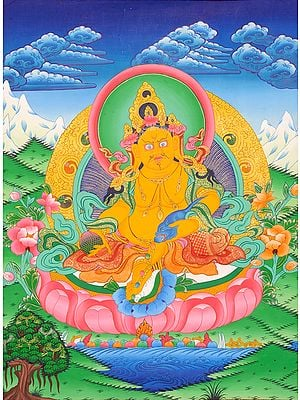 Kubera - Tibetan Buddhist God of Wealth and Prosperity