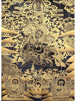 Tibetan Buddhist Palden Lhamo -  The Protectress of the Dalai Lama (And The Chinese (13th to 20th Century AD))