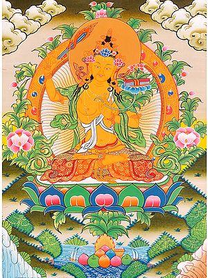 Tiebtan Buddhist God Manjushri