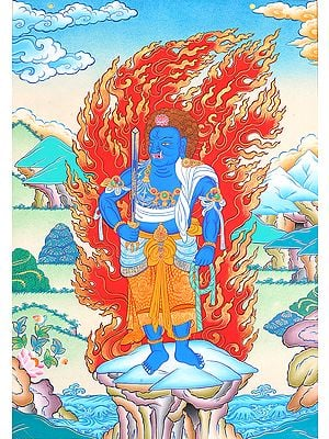 Achalanatha (Tibetan Buddhist God)
